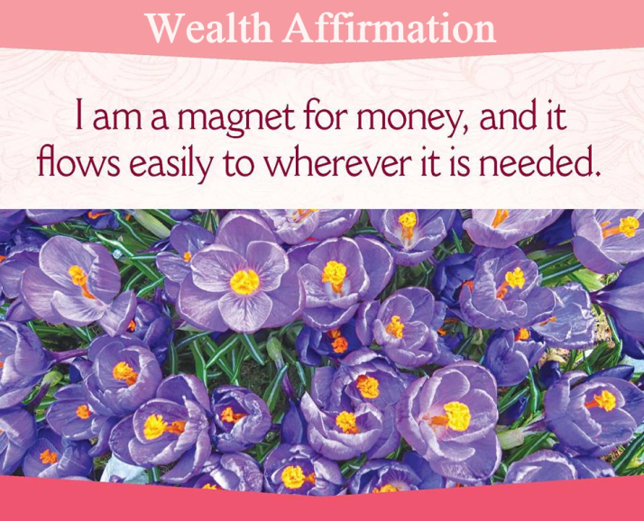 Affirmation for Wealth