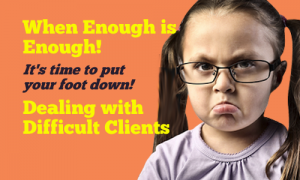 avoiding difficult new clients